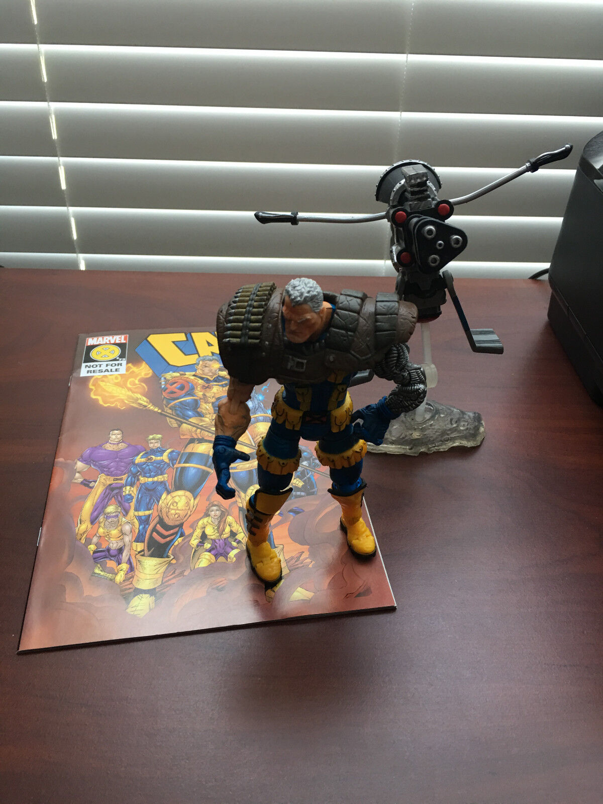 Marvel - legenden kabel ( x - men ) toybiz 6