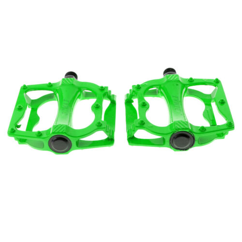 Road Mountain Bike Cycling Platform Pedals Flat Aluminum Sealed Bearing 9//16/""