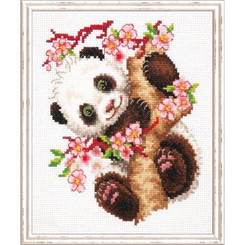 Magic needle  19-26  Panda  Broderie  Point de Croix compté