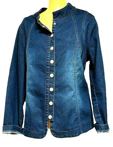 Denim Sz Ts N Rp 14 160 A Dream Stretch Plus form tager Xs Jacket Virtu Chic X8rq8p7Rw