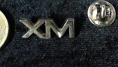 AnpassungsfäHig Citroen Pin Badge Xm Logo Schriftzug Silber Massiv