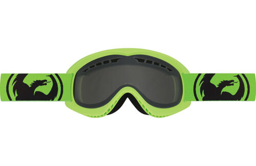 Dragon Alliance DX Ski snowboard Goggles  adult Neon Green//Smoke NEW