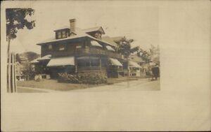 Home-1908-Lowell-MA-Cancel-amp-Message-Real-Photo-Postcard