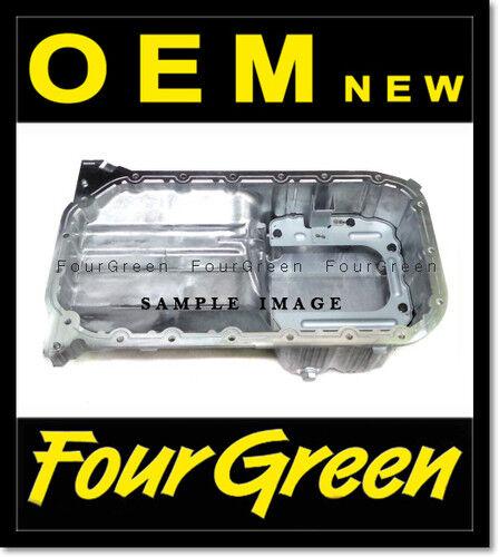 2152037102 Engine Oil Pan Upper for Sonata 99-01 2.5L  02-05 2.7L OEM New