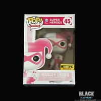 Rare Funko Pop Pink Harley Quinn Mallet Hot Topic Exclusive Valentines 45