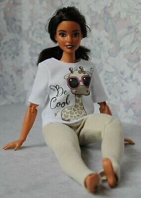 Blouse and Leggings for Dolls. №021 Handmade Doll Clothes