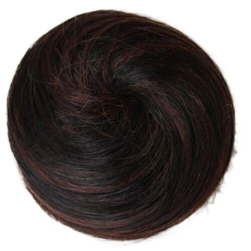 100/% Echthaar Human hair Duttkissen Haarknoten DUTT Haarteil Knotenring Knoten