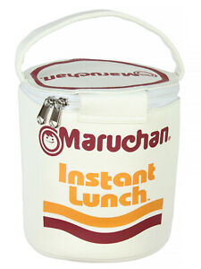 Maruchan Instant Lunch Ramen Lunchbox Novelty Cup Tote Carry Bag One Size