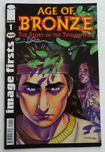 Signé Eric Shanower Âge De Bronze The Story Of The Trojan War Image Firsts #1