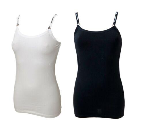 M L Karl Lagerfeld Unterwäsche Damen Top schwarz oder weiß S