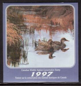 CANADA-1997-CANADIAN-WILDLIFE-HABITAT-CONSERVATION-BOOKLET-A84