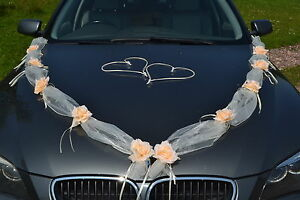Marriage-decoration-voiture-ruban-guirlande-mariage-Matrimonio-ivoire-peche