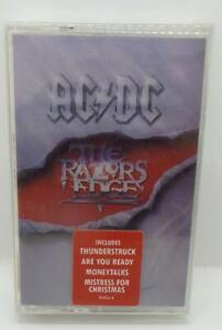 The Razor's Edge by AC/DC Cassette Tape Brand New Sealed