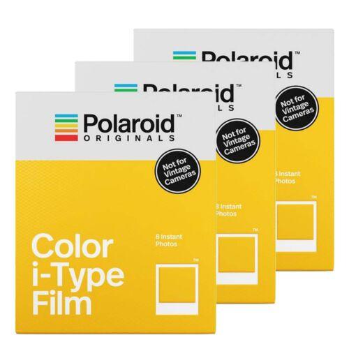 Pellicola a colori originali Polaroid per Polaroid I-Tipo fotocamere-Triple Pack