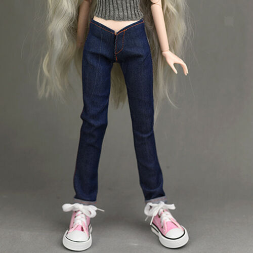 1//4 BJD Girl Doll Garment Costume For AOD for AS for DOD Jeans Pants Outfit