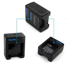 Telesin Dual Slots USB Battery Charger for Xiaomi Yi 4K Sports Action Camera 2