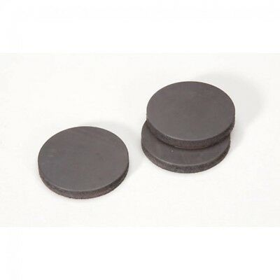 1039M Darice Round Stick On Magnets per pack of 3