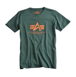 Alpha-Industries-t-shirt-034-Basic-t-034-Dark-petrol-100501-senores-hombres-353