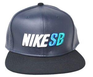 5b0040a9f4269 Image is loading Nike-SB-Performance-Black-Skateboard-Trucker -Adjustable-SnapBack-