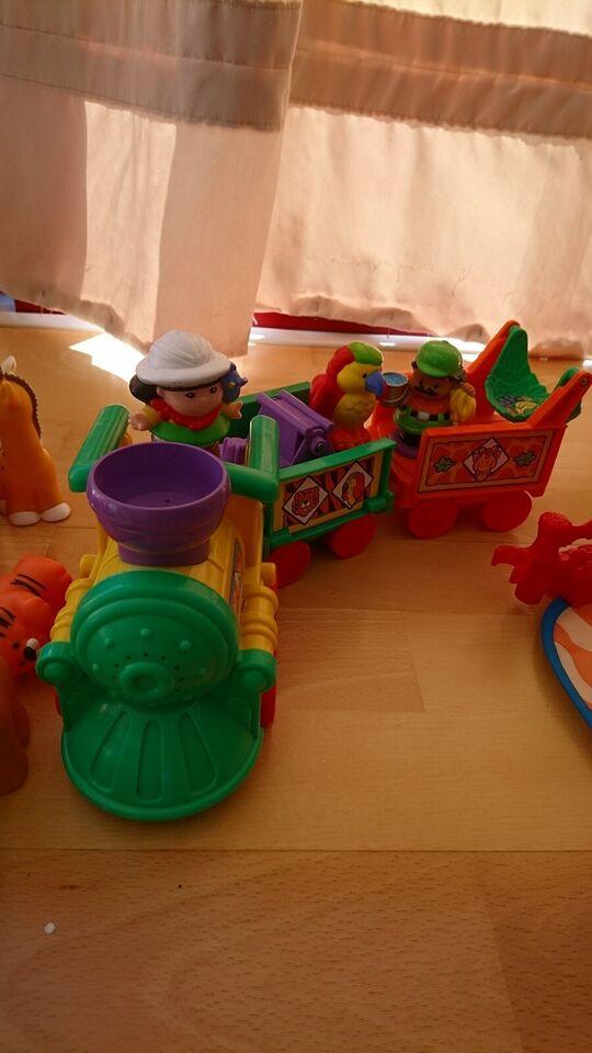 Little people, Blandet dyr, people og udstyr