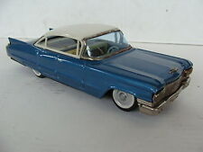 RARE CADILLAC SEDAN TIN TOY ANTIQUE TPS PLAYTHING 1959 JAPAN