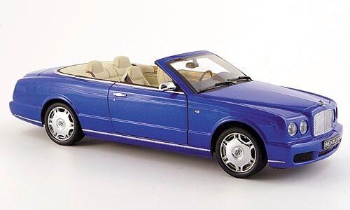 MINICHAMPS 2006 Bentley Azure cabriolet, bleu métallisé 1 18 Last One