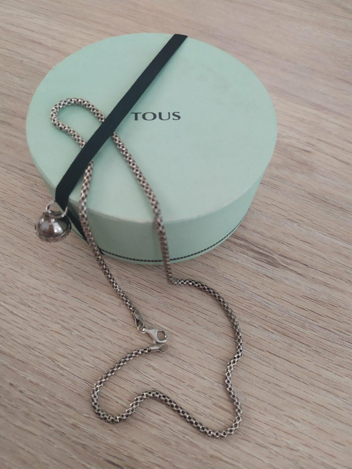 TOUS Necklace Collar De Plata ley 925 / TOUS Necklace 925 Sterling...