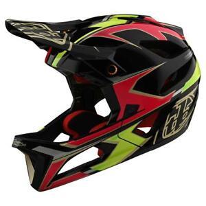 Troy-Lee-Designs-Stage-MIPS-Helmet-ROPO-Pink-Yellow-Medium-Large