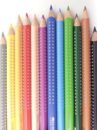 Faber Castell Buntstift Jumbo GRIP Farbstift Buntstifte Einzeln Colour Pencils