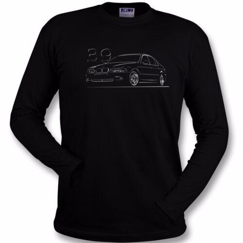 sweatshirt T-shirt for bmw e39 fans 520 525 530 m5 sedan touring tshirt