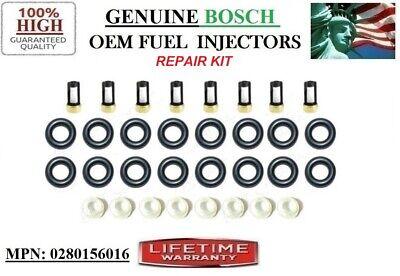 Genuine Bosch Set Of 8 Fuel Injectors For 2001-2006 Mercedes-Benz S430 4.3L V8