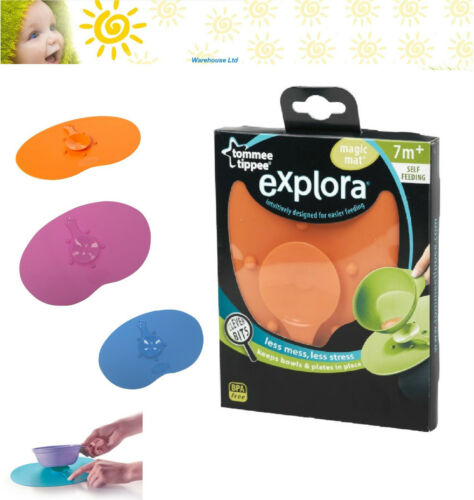 Tommee Tippee EXPLORA Magic Mat Suction for Bowls, Anti Spill, Baby Weaning