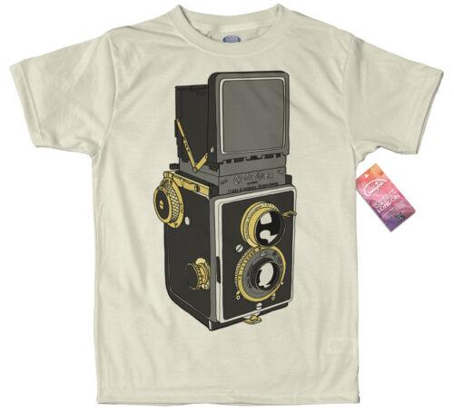 Rolleiflex Camera T Shirt Design