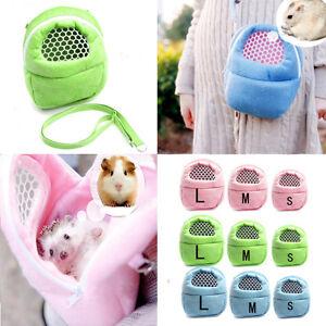 Details about Hamster Sugar Glider Chinchilla Ferret Carrier Packet Bag  Hanging Sleep Bed JS