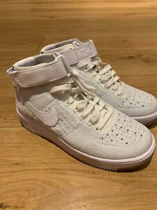 c585aadd7f65 WORN ONCE NIKE AIR FORCE 1 Flyknit Hi Tops Size 3.5 RRP £139.00