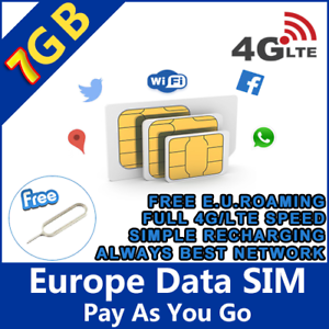 Europe-Prepaid-Sim-Card-7GB-data-with-4G-LTE-speed-Europe-holiday-trip-Holiday