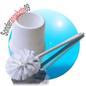 FleißIg Wc-set Bürste Im Ständer Rund 12x37garnitur Toilettenbürste Klobürste Weiß Eco Harmonische Farben Badzubehör & -textilien