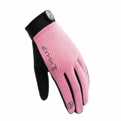 UK Full Finger Cycling Gloves MTB Motorcycle Bike Palm Padded Riding Touchscreen