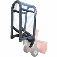 Slush Plow Clearview Inflatable Two-stage Snow Blower Cab