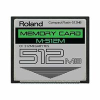 512mb Roland M-512m Compactflash Cf Memory Card Upgrade For Spd... Free Shipping