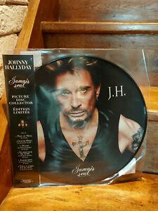 Johnny Hallyday - Jamais seul - PICTURE DISC COLLECTOR - EDITION LIMITÉE