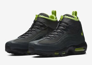 pretty nice 925c8 dd9ab Image is loading NIKE-AIR-MAX-95-SNEAKER-BOOT-MENS-806809-