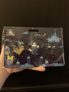 Minnie-Mouse-The-Main-Attraction-Pin-Set-Peter-Pan-039-s-Flight-Limited-Release