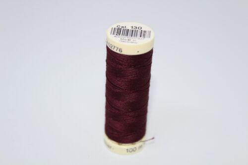 Gutermann Sew All Polyester Thread 100m Col. 000-198