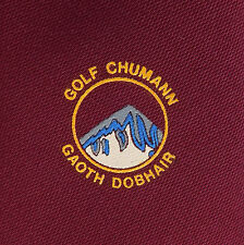 Gweedore Golf Club tie Galf Chumann Gaoth Dobhair Ireland Irish sport Ghaoth