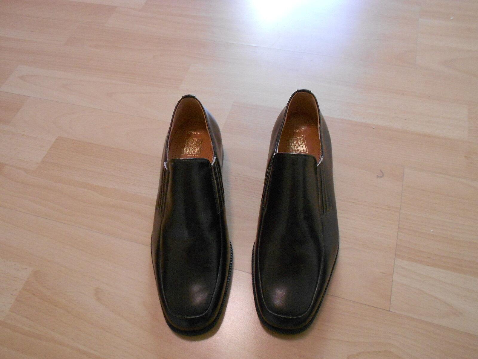 Fretz Menn Herren Echt Schuhe Gr:7 oder 41 Echt Herren Leder Neu abb9a1
