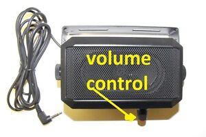 Details about EXTERNAL volume control best ham cb communication SPEAKER