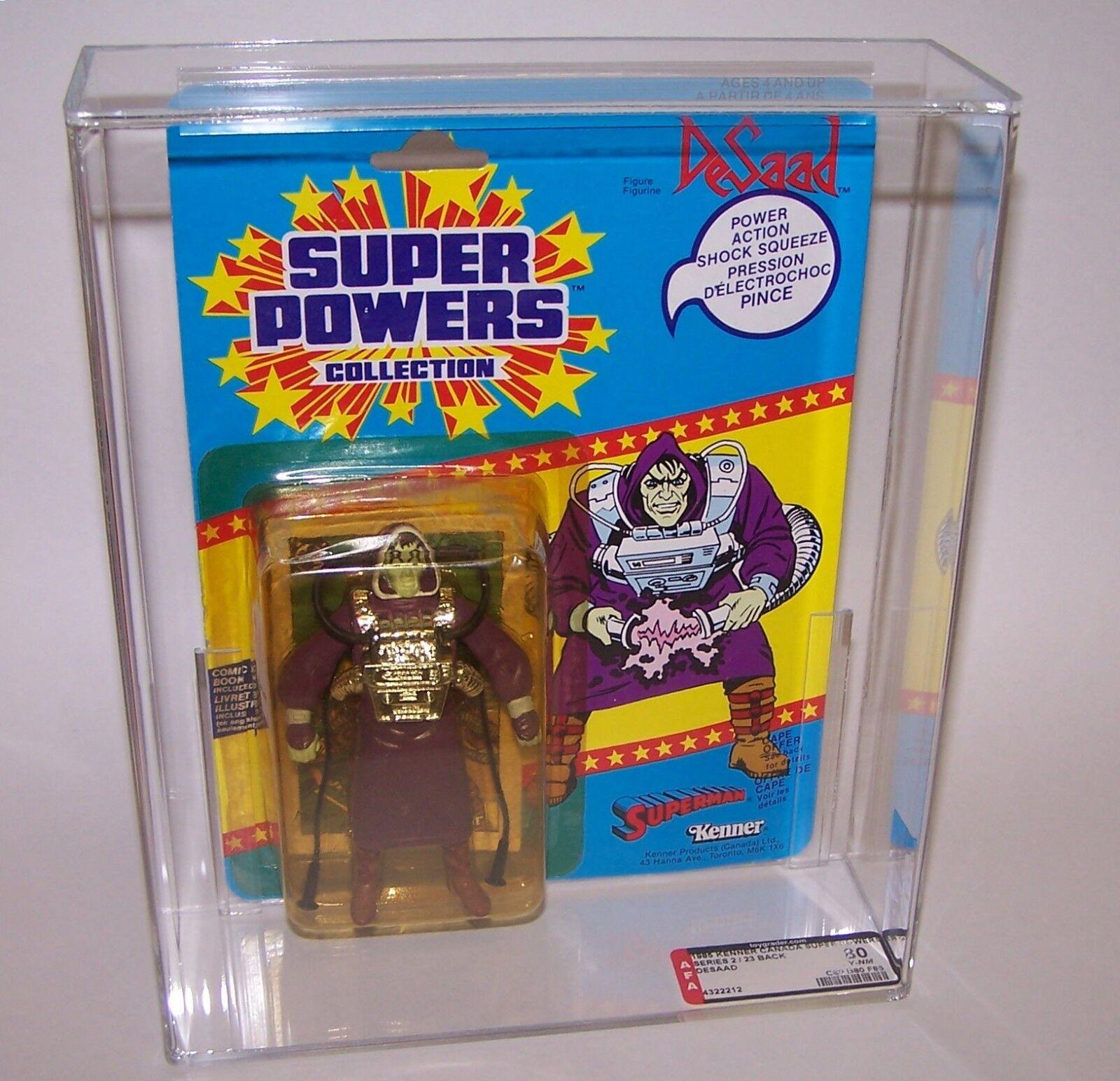 Super Powers Desaad Action Figure 1985 Kenner Graded AFA AFA AFA 80 Series 2 23 Can 2ddd1a