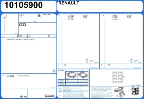 10105900 Genuine AJUSA OEM Replacement Cylinder Head Gasket Seal Right Side