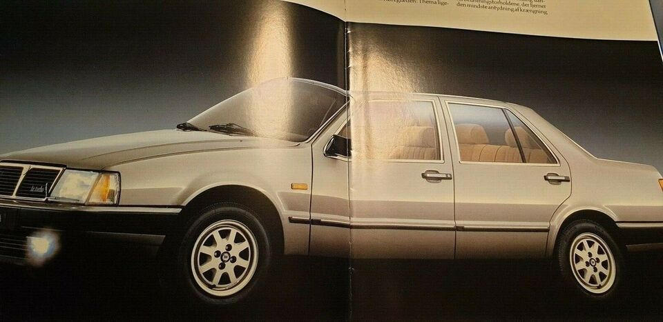 Brochure, Lancia Thema